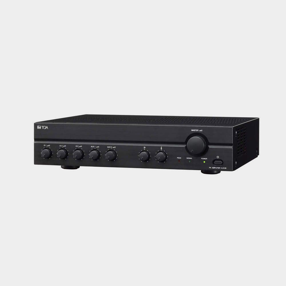 Микшерный усилитель звука TOA A-2120 | toa.com.ua