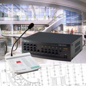 Система оповещения TOA VM-2000 | toa.com.ua