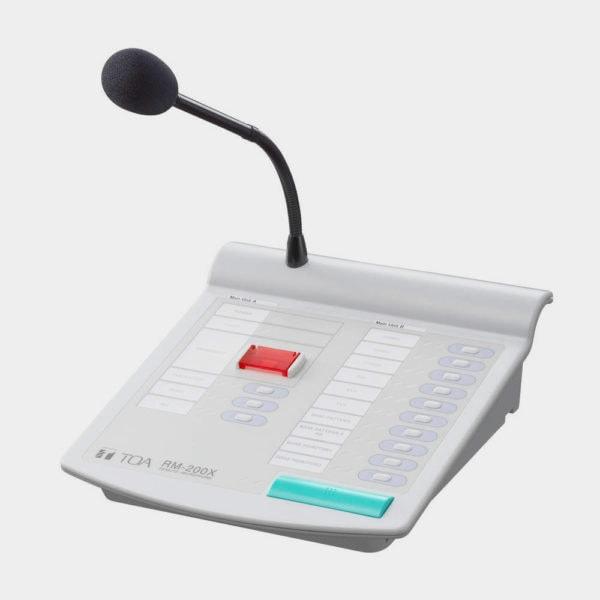 Дистанционная микрофонная консоль TOA RM-200X | toa.com.ua