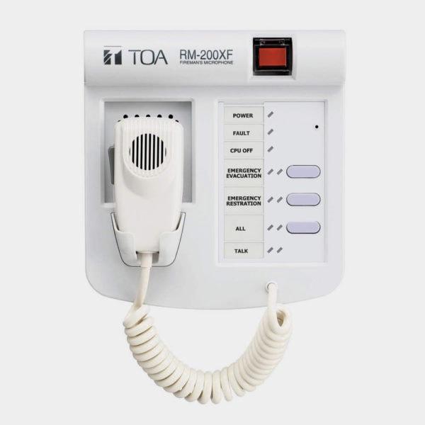 Пожарный микрофон TOA RM-200XF | toa.com.ua