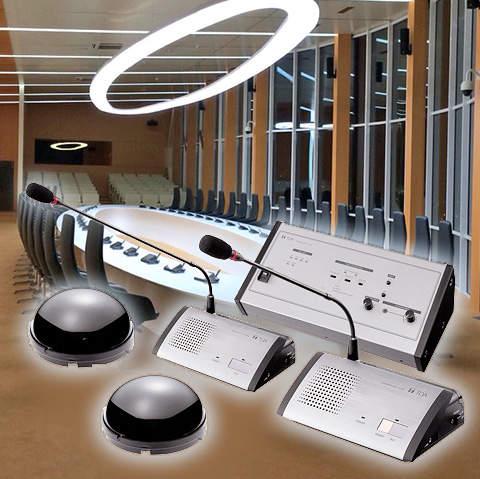 Беспроводная конференц-система TOA TS-800 | toa.com.ua