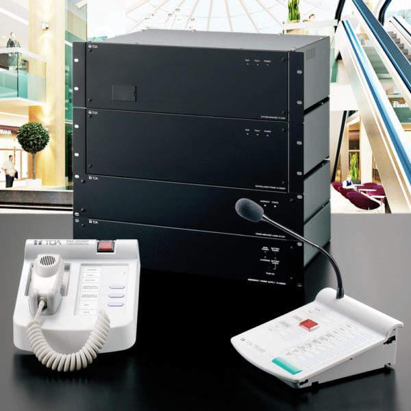 Система оповещения TOA VX-2000   toa.com.ua