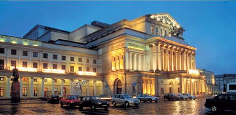 Большой оперный театр в Варшаве