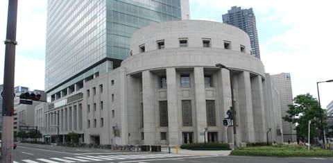 Осакская биржа ценных бумаг, Осака