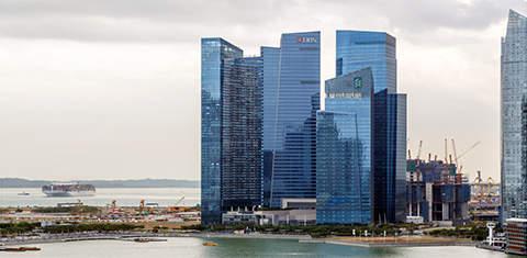 Финансовый центр Marina Bay, Сингапур