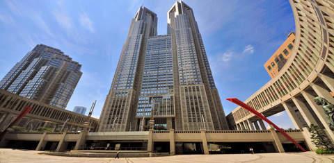 Токийское столичное правительственное здание
