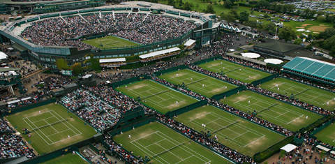 Теннисные корты Уимблдона